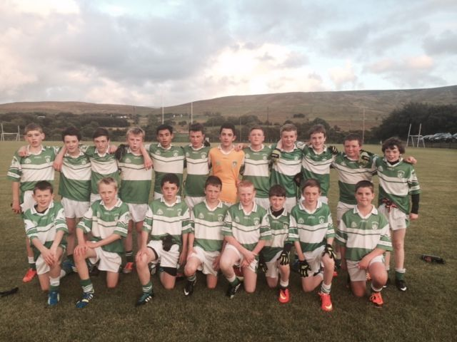 U14 Football Team (minus Eoin McCusker injured)