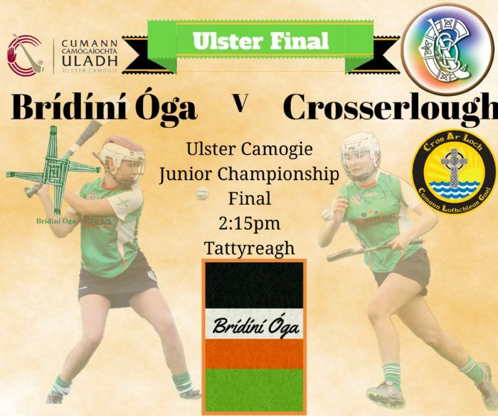 Ulster Final, Bridini Oga v Crosserlough