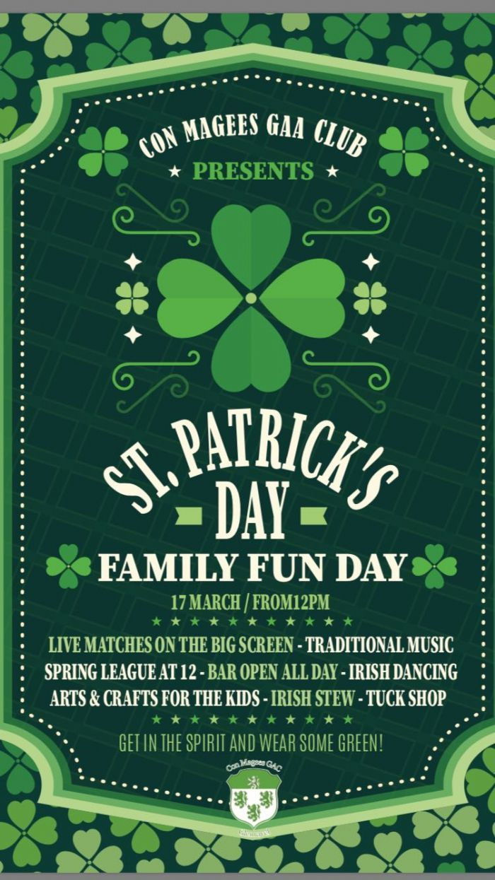 Fun for everyone this St Patrick's Day